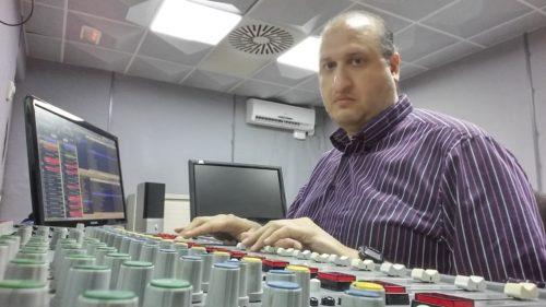 Técnico de sonido, Francisco Bastarrica Cabrera