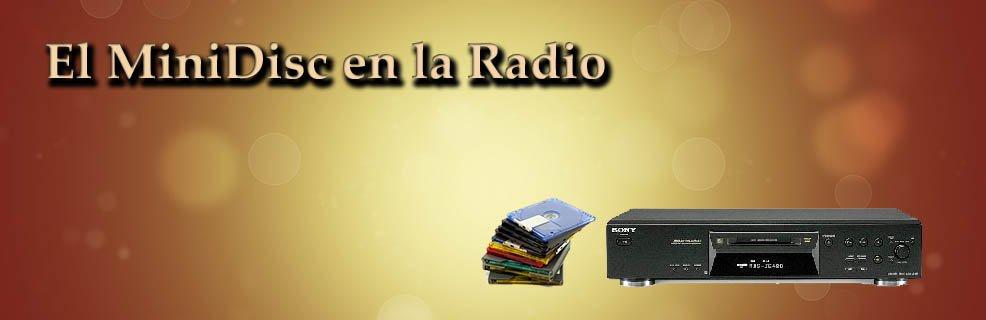 MiniDisc en la radio