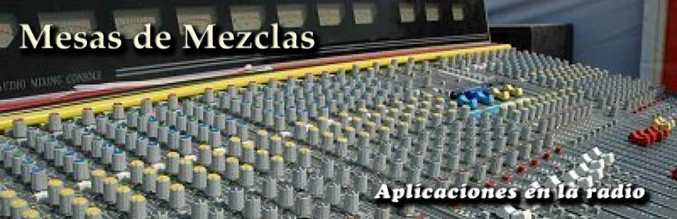 Mesas de mezclas diferentes aplicaciones en la radio for Programa mesa de mezclas